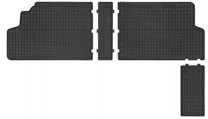 Dywaniki gumowe Citroen Jumpy 2007-2016 2-rząd Frogum
